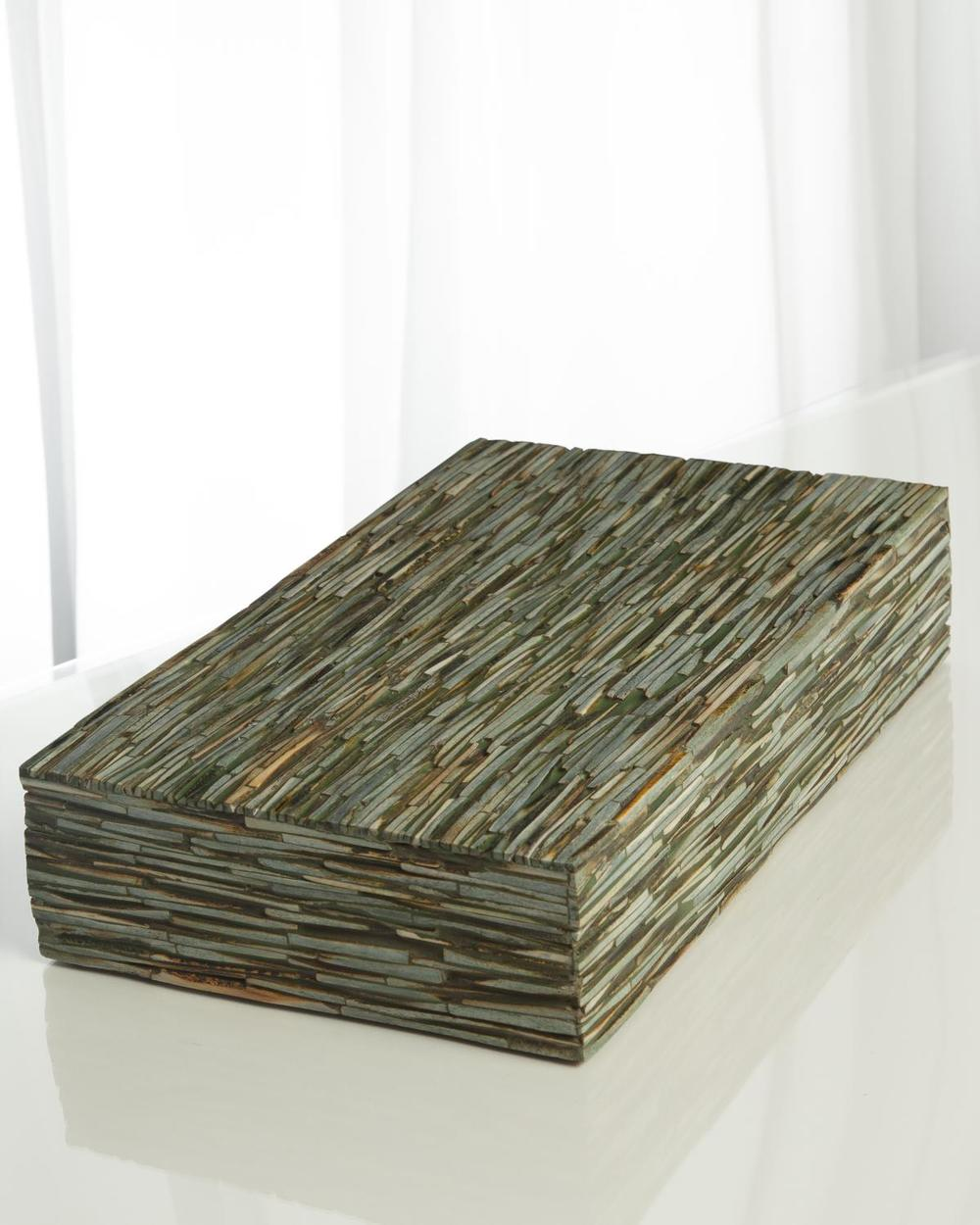 Global Views - Chiseled Bone Box