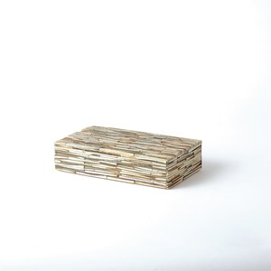 Thumbnail of GLOBAL VIEWS - Chiseled Bone Box