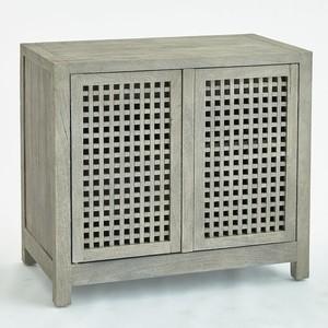 Thumbnail of Global Views - Driftwood Lattice Two Door Cabinet