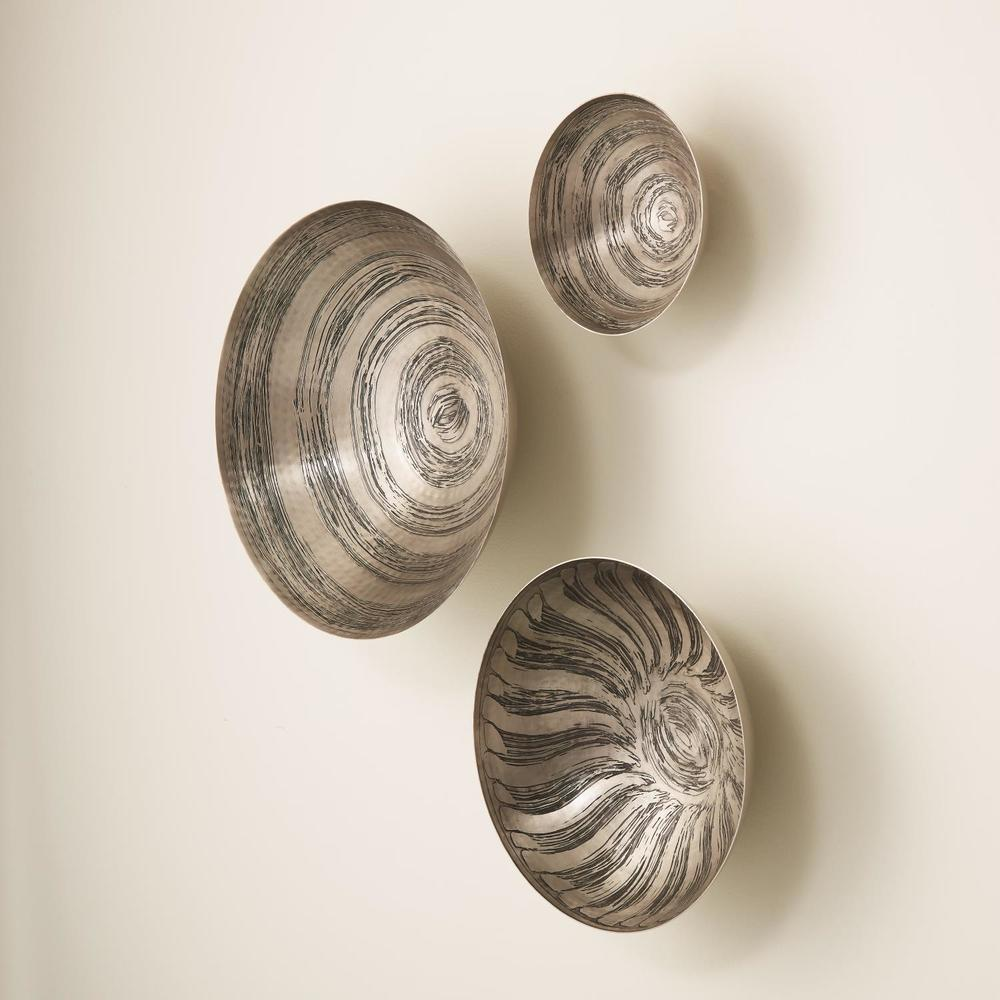 GLOBAL VIEWS - Sun Etched Wall Bowls