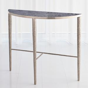 Thumbnail of Global Views - Hammered Console with Grey Marble