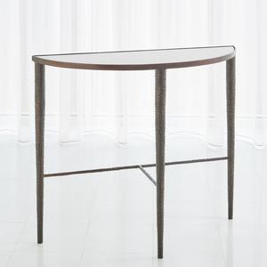 Thumbnail of Global Views - Hammered Console with White Marble
