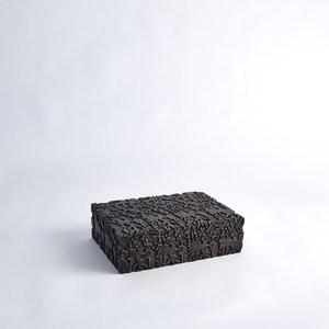 Thumbnail of Global Views - Dentwood Box, Weathered Black, Medium