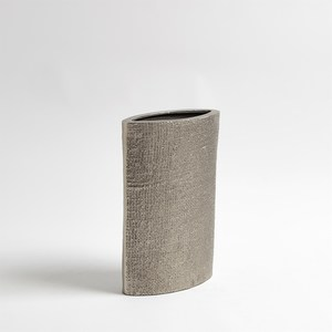 Thumbnail of Global Views - Hemp Etched Vase, Nickel, Small