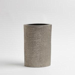 Thumbnail of Global Views - Hemp Etched Vase, Nickel, Small