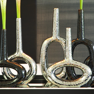 Thumbnail of Global Views - Round Keyhole Vase