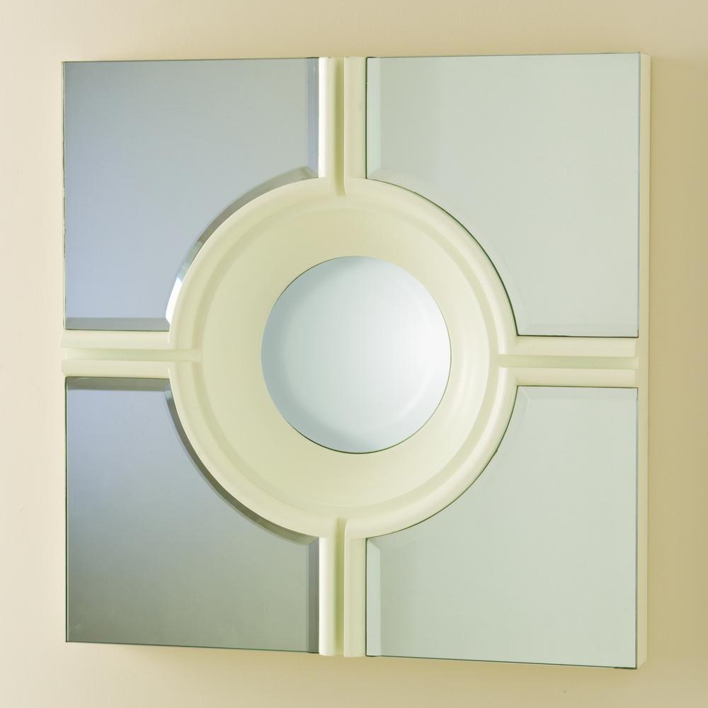 Global Views - Bull's Eye Cross Mirror