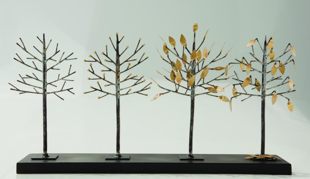 Global Views - Four Seasons Tree Sculpture