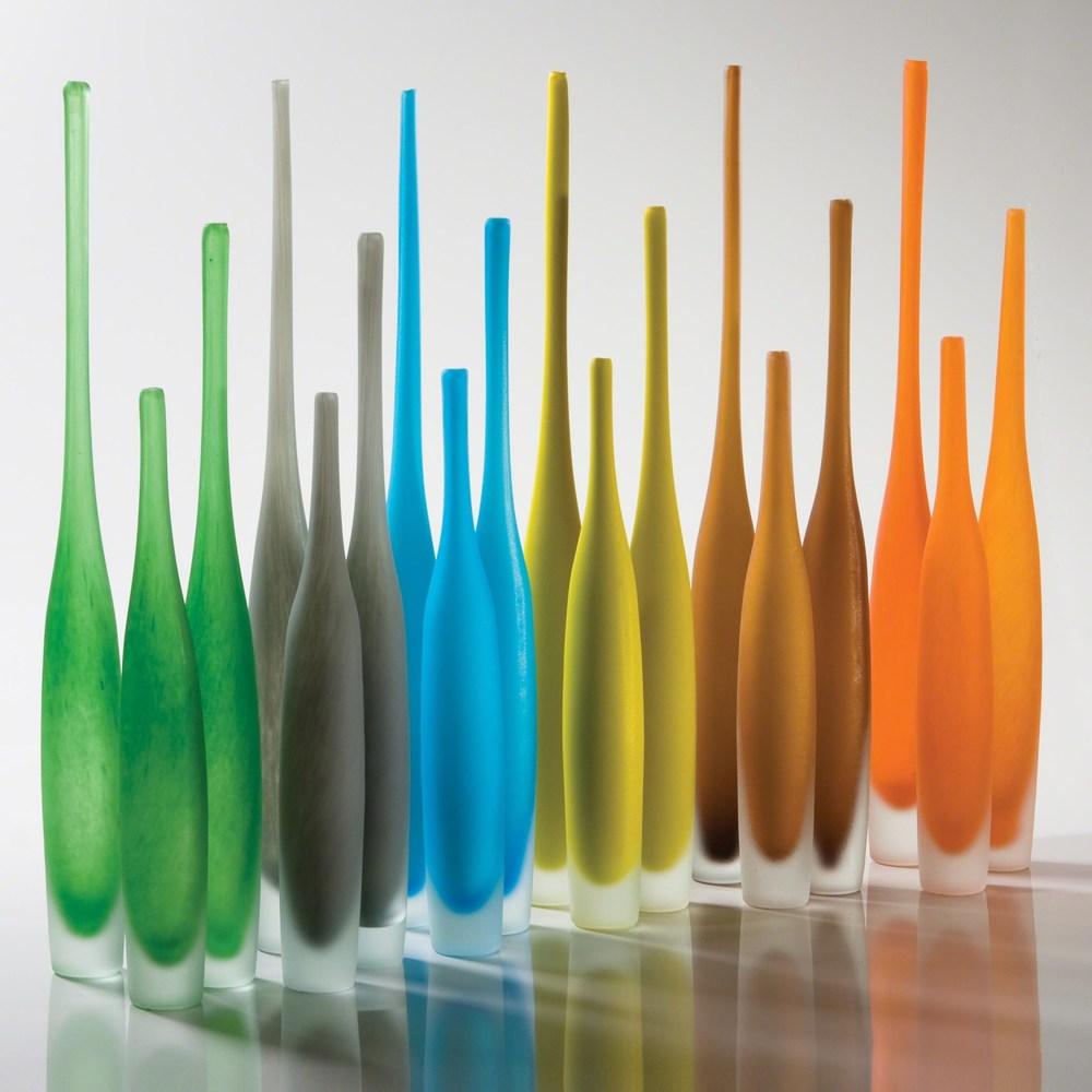 Global Views - Spire Bottle, Asparagus, Small