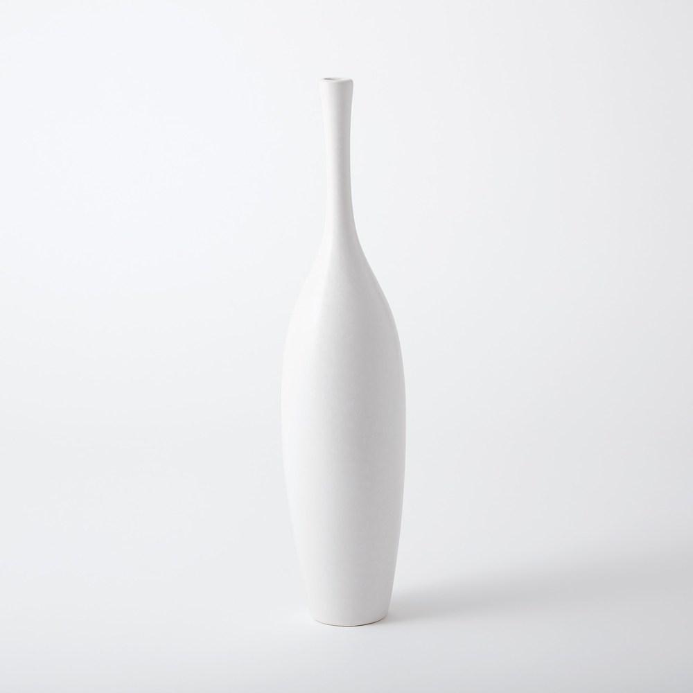 Global Views - Juggler Vase, Blanc