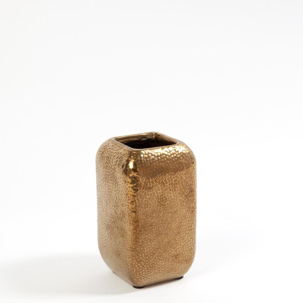 Global Views - Wide Hammered Vase