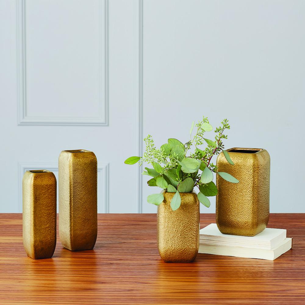 Global Views - Narrow Hammered Vase