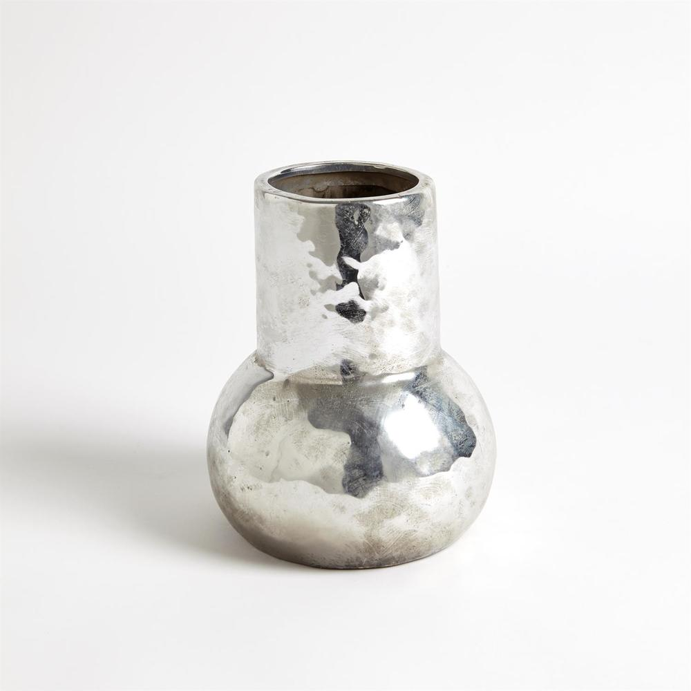 Global Views - Hammered Ceramic Chimney Vase, Large