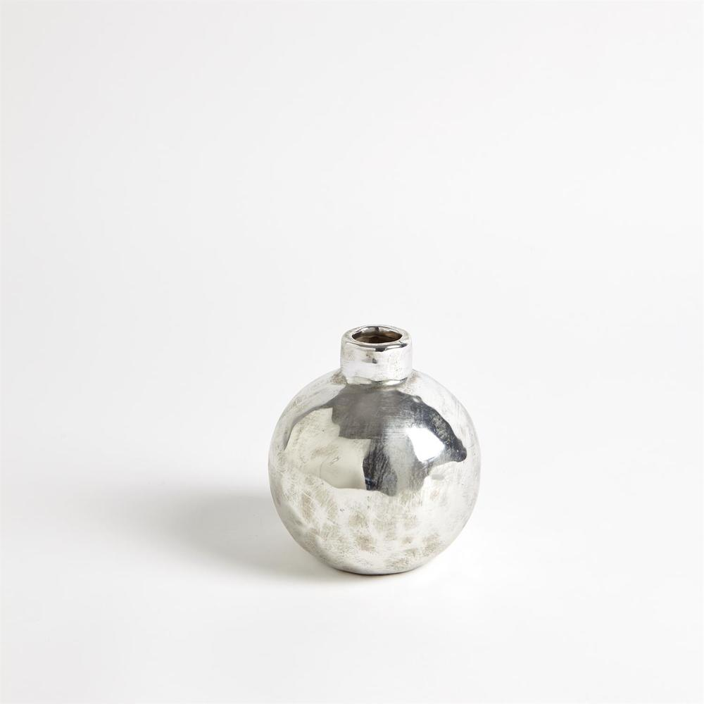Global Views - Hammered Ceramic Orb, Small