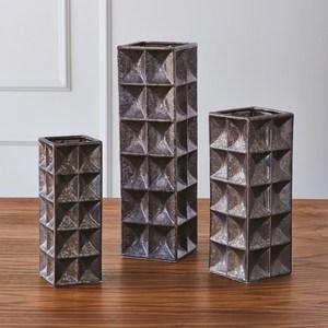 Thumbnail of Global Views - Square Grid Vase, Large