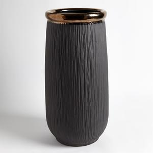 Thumbnail of Global Views - Rolled Bronze Banded Container
