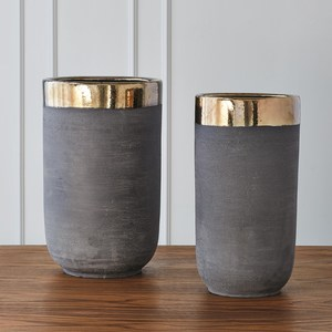 Thumbnail of Global Views - Banded Bronze Container, Large