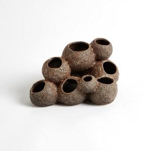 Thumbnail of Global Views - Reef Vase, Sand, Tall