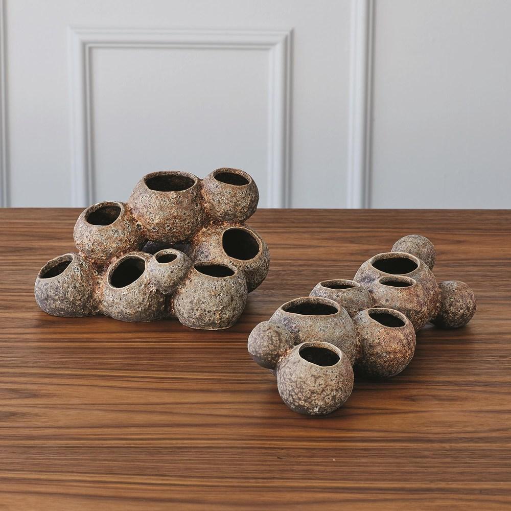 Global Views - Reef Vase, Sand, Tall