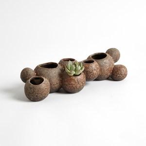 Thumbnail of Global Views - Reef Vase, Sand, Short