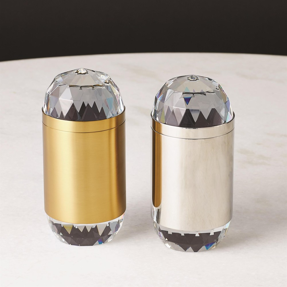 Global Views - Banded Crystal Candle
