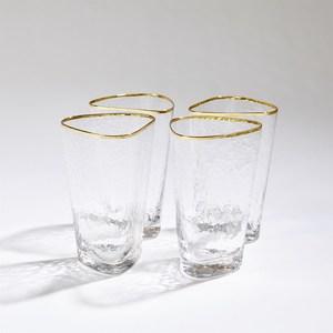 Thumbnail of Global Views - Hammered High Ball Glasses, Set/4