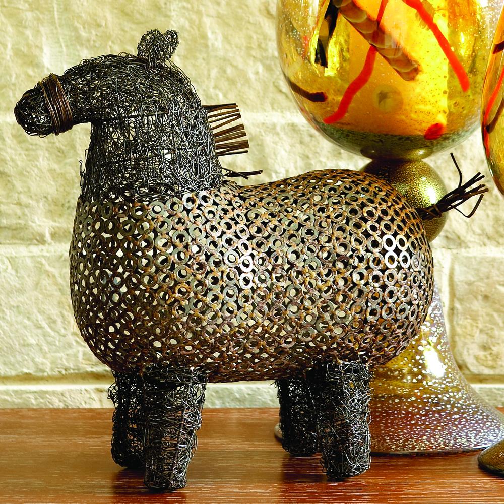 Global Views - Crazy Fat Pony Sculpture