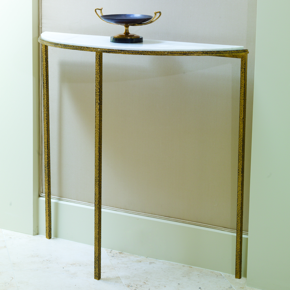 Global Views - Hammered Gold Console