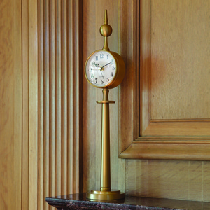 Thumbnail of Global Views - Tower Clock, Brass
