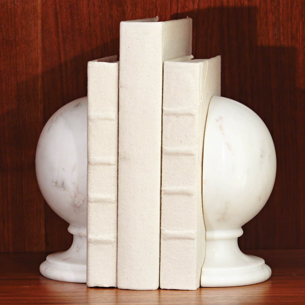 Global Views - Marble Sphere Bookends