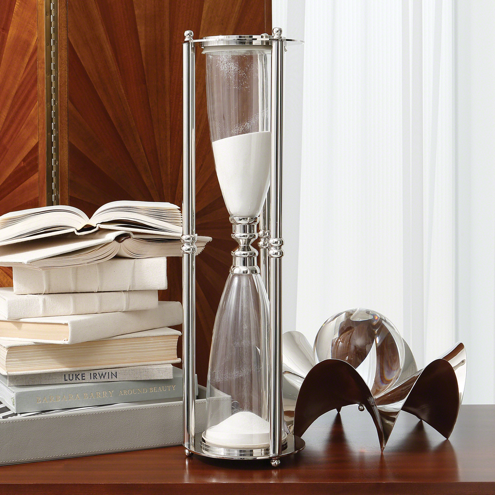 Global Views - Hourglass, Nickel