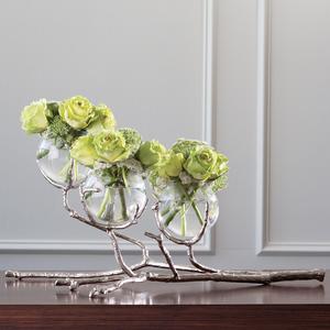 Thumbnail of Global Views - Twig Three Vase Holder, Nickel