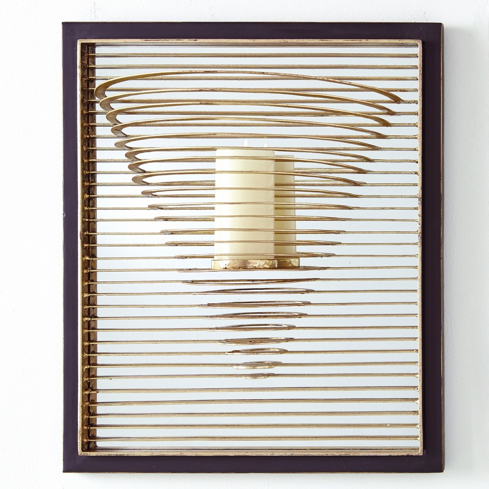 Global Views - Pyramid Candle Sconce