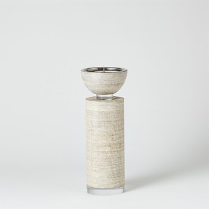 Thumbnail of GLOBAL VIEWS - Scratched Pillar Candle Holder