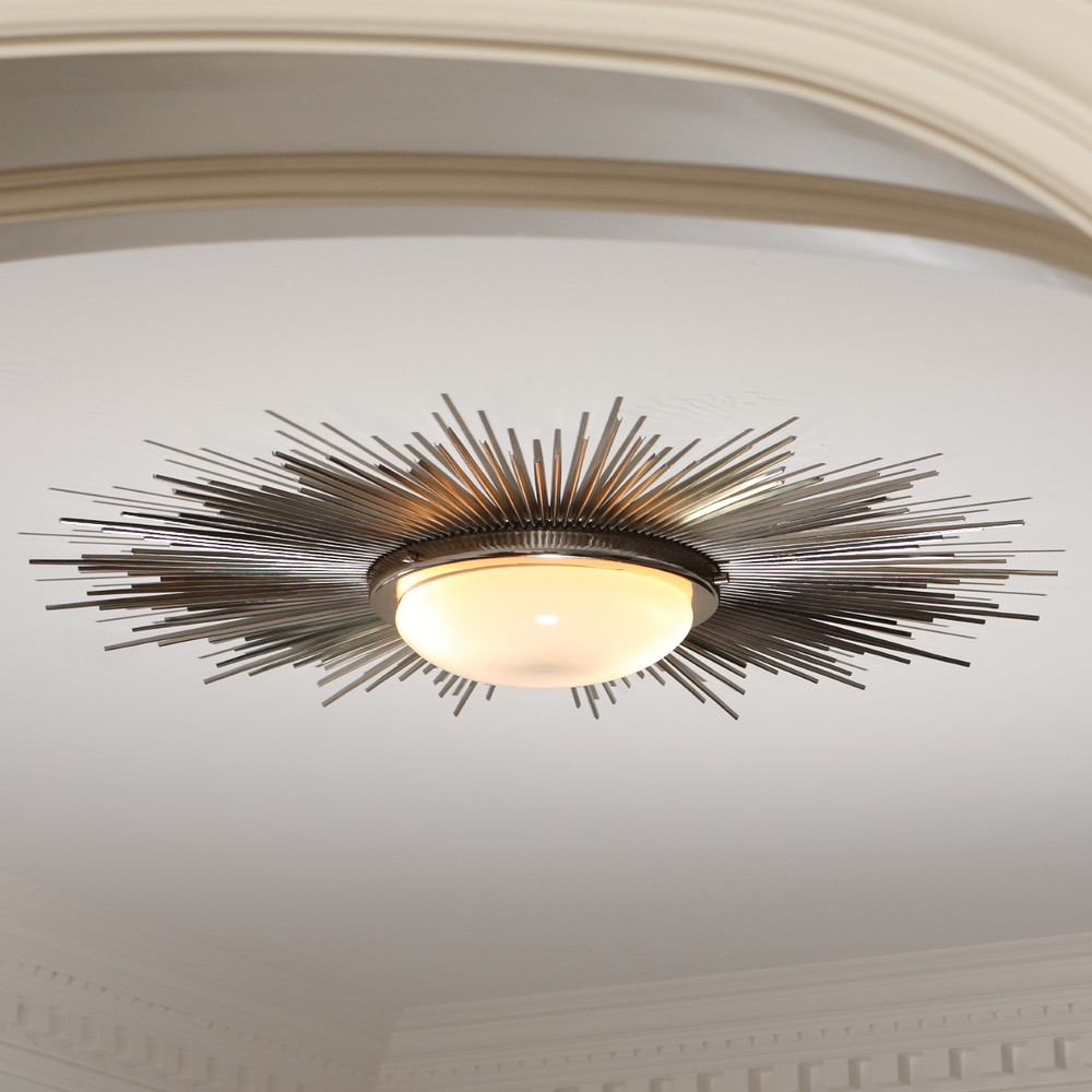 Global Views - Sunburst Light Fixture