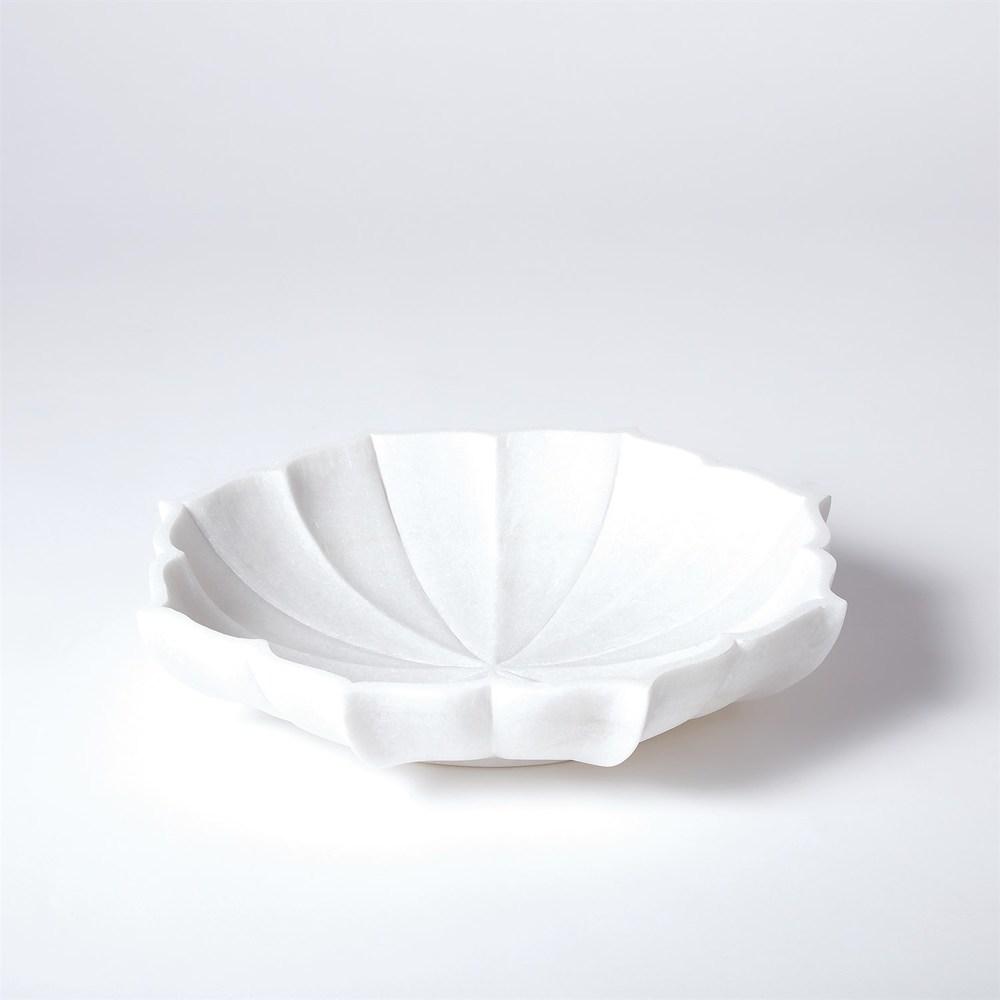 GLOBAL VIEWS - Marble Petal Bowl
