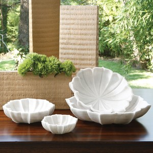 Thumbnail of Global Views - Marble Petal Bowl