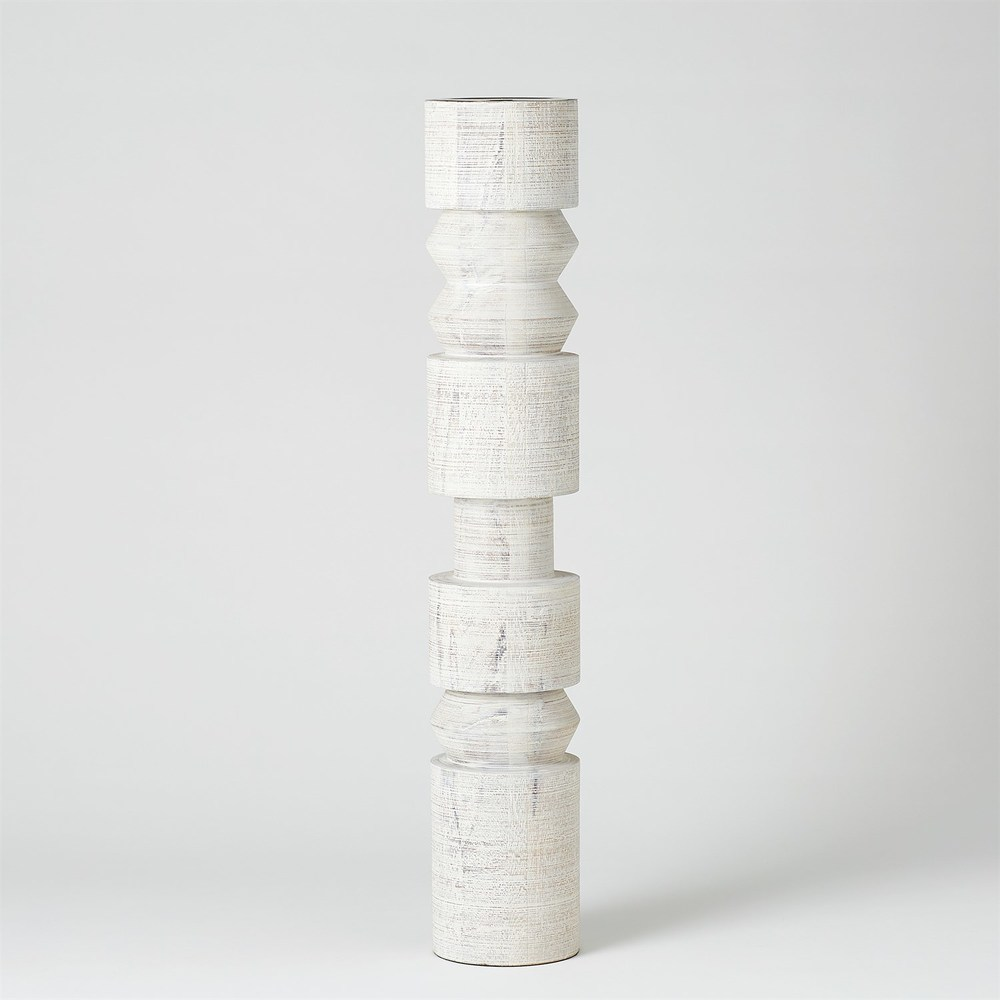 Global Views - Totem Candle Holder