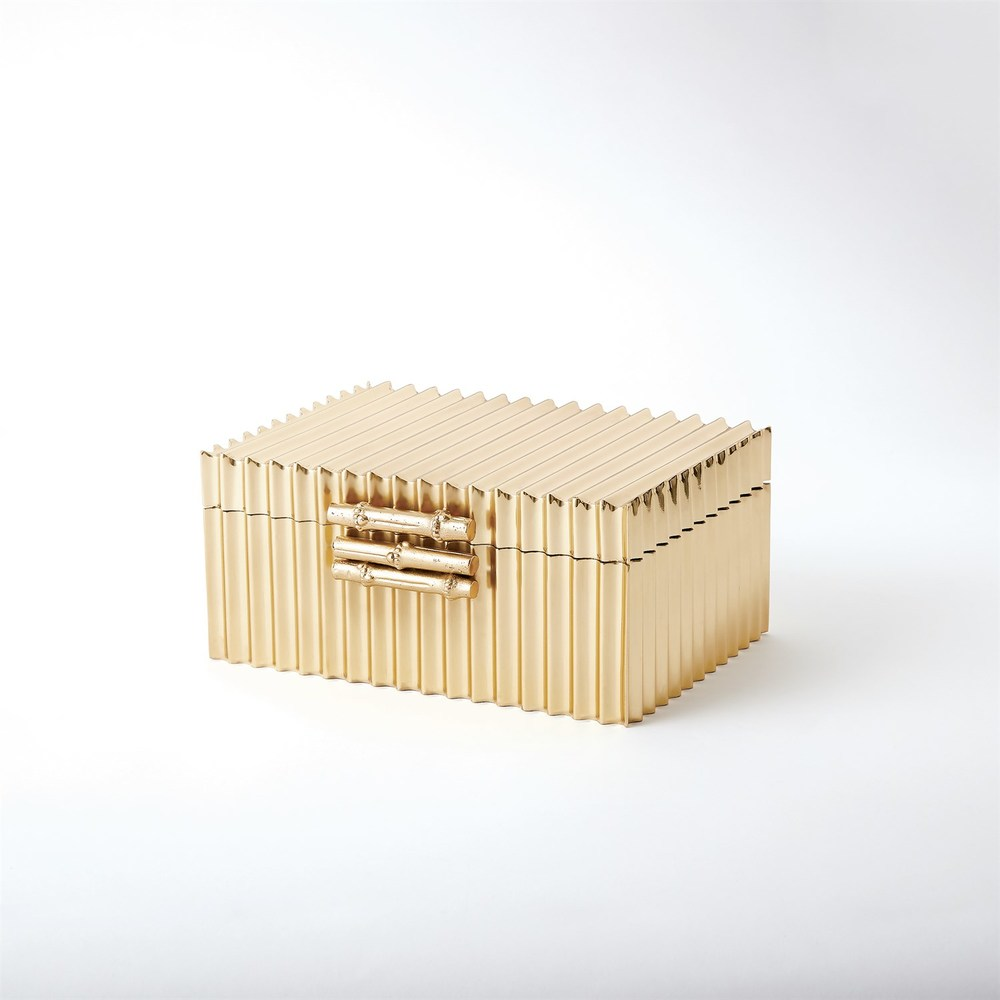 Global Views - Corrugated Bamboo Box