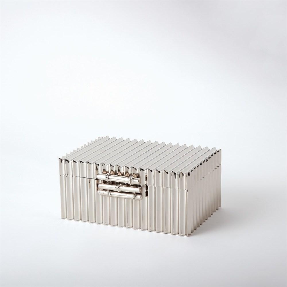 Global Views - Corrugated Bamboo Box