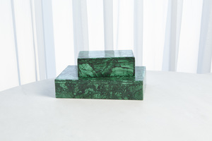 Thumbnail of Global Views - Malachite Stone Box