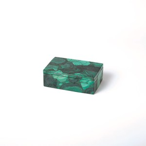 Thumbnail of Global Views - Malachite Stone Box