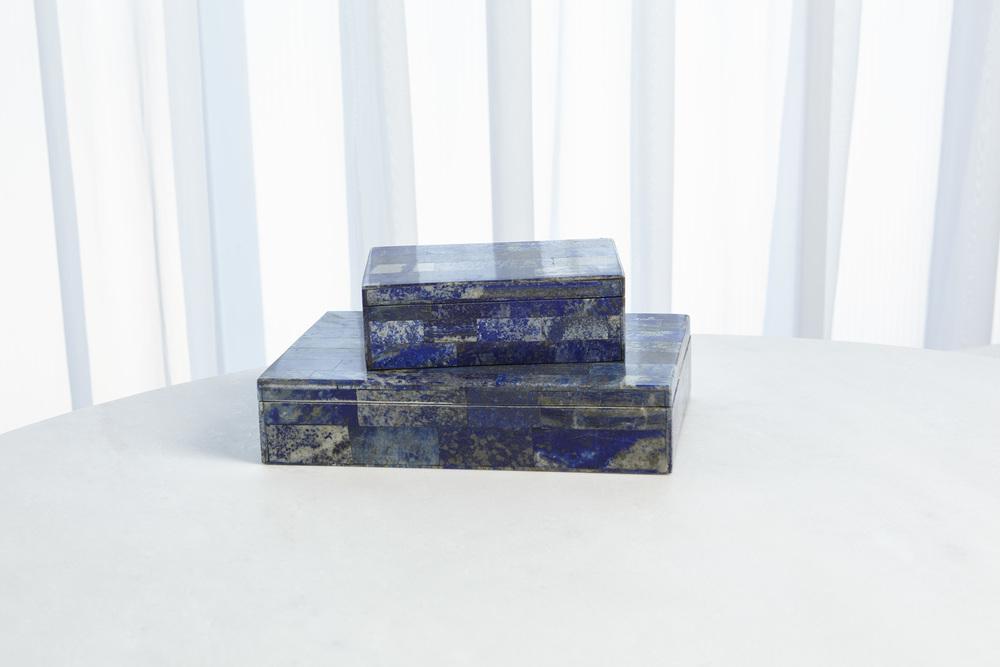 Global Views - Lapis Stone Box