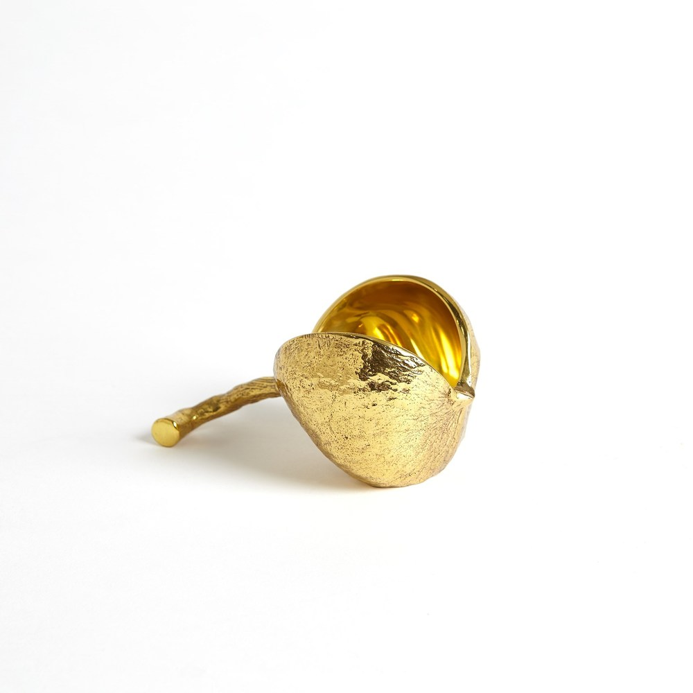 Global Views - Chestnut Bowl, Brass, Small