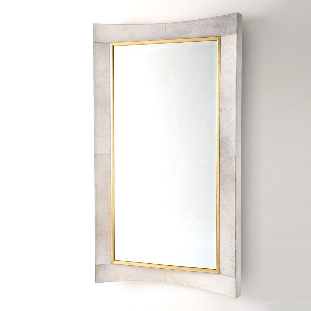 Global Views - Curved Floor Mirror