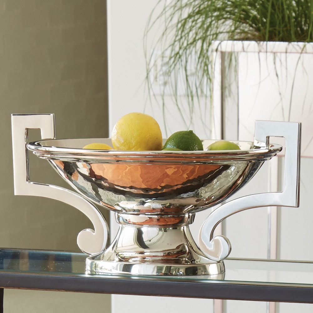 Global Views - Square Handle Compote
