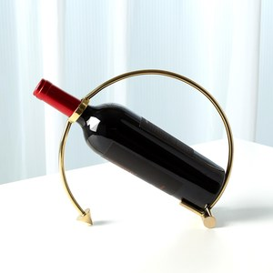 Thumbnail of Global Views - Arrow Wine Caddy, Brass