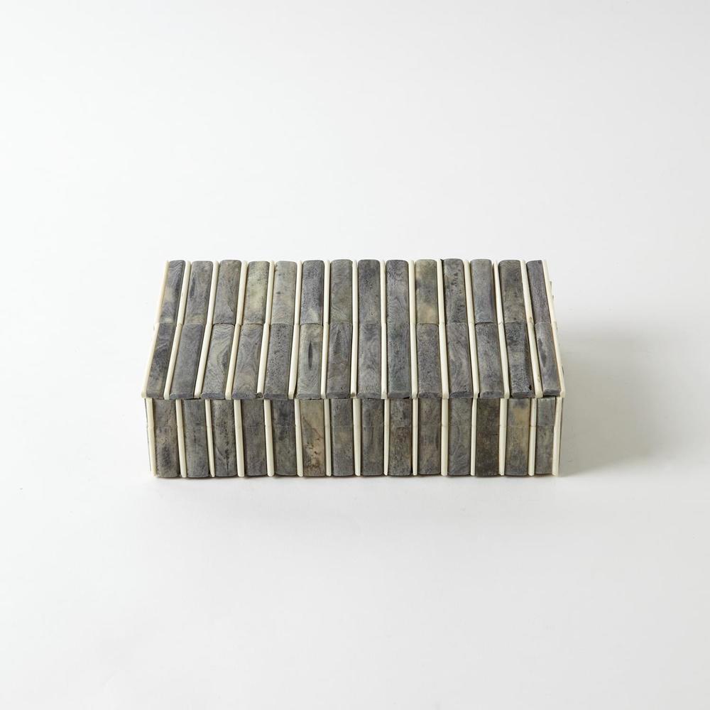 GLOBAL VIEWS - Grey/Ivory Bone Box