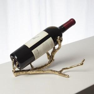 Thumbnail of Global Views - Twig Wine Bottle Holder, Brass