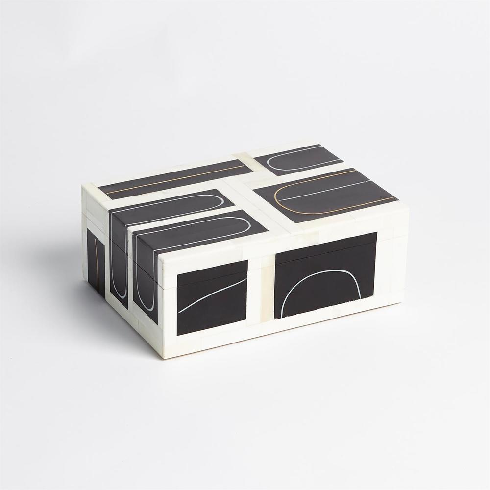 GLOBAL VIEWS - Brass Loop Box, Small
